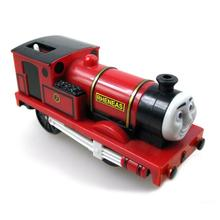 red Rheneas Electric Thomas and friend Trackmaster engine Motorized train Chinldren child kids plastic toys gift no truck
