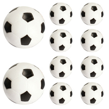 Children's toys 10pcs 32mm Plastic Soccer Table Foosball Ball Football Fussball TY