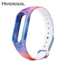 Buy HIPERDEAL New Replacement Silica Gel Wristband Band Strap Xiaomi Mi Band 2 Bracelet 18Jan12 Drop Ship for $1.33 in AliExpress store