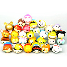 tsum tsum action figure toy  2017 New Soft PVC tsum tsum stitch hello kitty bear figura doll toys for girls boys party decor