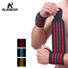 ALBREDA Sports Safety Accessories Sports Wrist Support Strap Elastic  Wrist Band Weight Lifting Straps Gym Accessories 2 Pieces