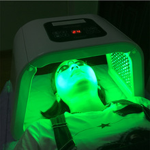 Free shipping 4 Color PDT LED Acne Light Therapy Machine Facial Mask Beauty SPA Phototherapy For Skin Rejuvenation Acne Removal