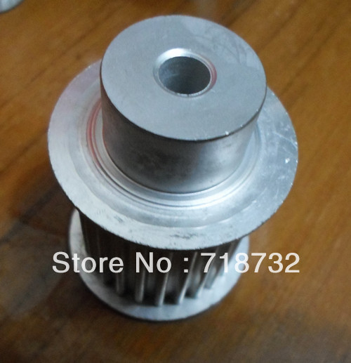 T5 pulleys 25 tooth 30mm width 8mm bore with aluminum<br><br>Aliexpress