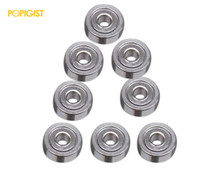POPIGISTMini 4wd 620 Ball Bearing Self-madeParts ForTamiya MINI 4WD 620 Ball Bearing for the Chasis of MINI 4WD S013 10Pcs /lot(China)