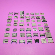 49Models for Blackberry Q5 Z30/ samsung N7000 i9000 I9003/ Hua wei P6 P7/ Sony Xperia Z LT36 L36 C6602 Sim card socket reader(China)