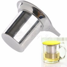 Stainless Steel Tea Leaf Spice Filter Mesh Tea Infuser Reusable Strainer Loose