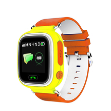 lbs/gps/wifi location gps tracker touch screen mobile watch phone(China)