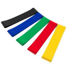 Fitness CrossFit Resistance Band Set 5 Levels Available Latex Gym Strength Training Loop Resistance Rubber Bands 600*50mm(China)