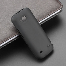 New High Quality Flexible Black TPU Matte Silicone Gel Skin Case Cover For Nokia C5 C5-00
