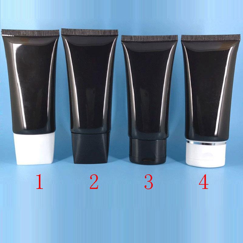 50ml 60ml black flat soft tube (6)