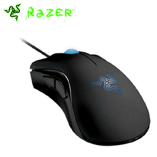 Original Razer Deathadder Mouse 3500DPI 3.5G Gaming Mouse + Razer Goliathus 320mmx240mmx3mm With Retail Package