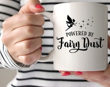 Fairy Dust mugs coffee home decal tea mugen Dishwasher&Microwave Safe beer magic(China)