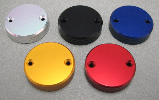 Precision CNC machining----Color Anodized Spare Parts with screws<br>