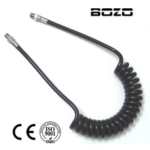 Airsoft pcp paintball accessories Co2/AIR Coiled Remote Hose Line(2.5m) 3000-4500PSI paintball New