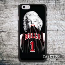 Chicago Bulls 1 Marilyn Monroe Case For iPod 5 and For iPhone 7 6 6s Plus 5 5s SE 5c 4 4s Support Global Free Shipping Wholesale