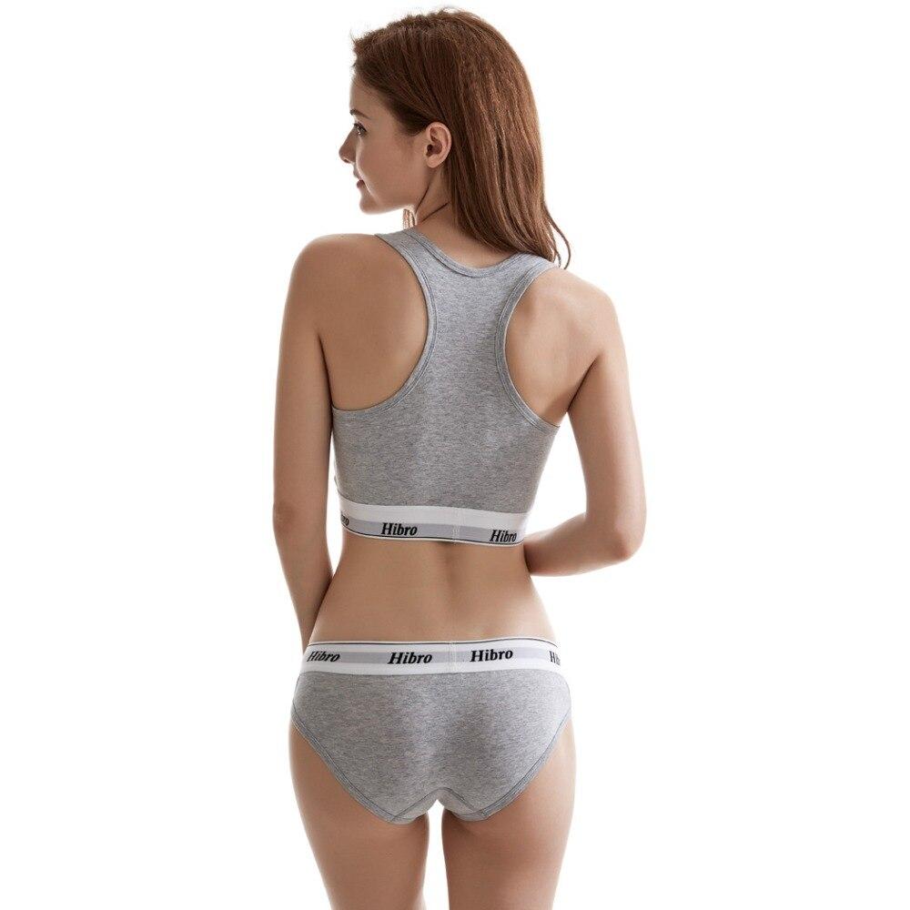Women's underwear boxers Bra Set cotton comfortable Vest intimates Seamless Sexy Women Thongs Stretch Briefs Bras Sets 10