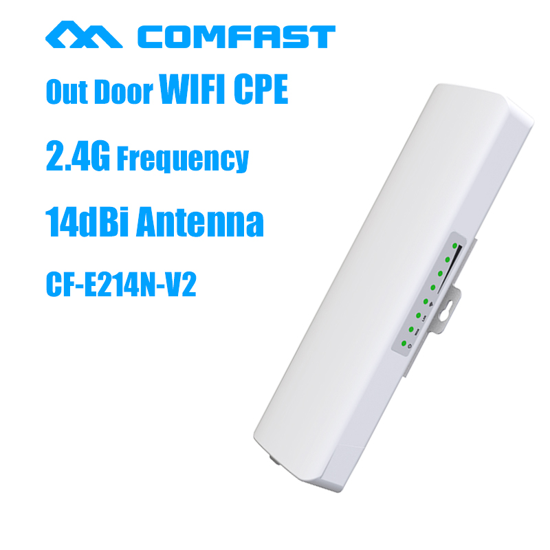 COMFAST CF-E214N-V2 high power 14dBi antenna Outdoor Wifi Receiver Long range Coverage signal booster/amplifier outdoor CPE/AP<br><br>Aliexpress