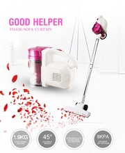 ZEK-ZC1018 9 Pieces Vacuum Cleaner Parts Brush Pink Wireless Cordless Vacuum Cleaner with Strong Power