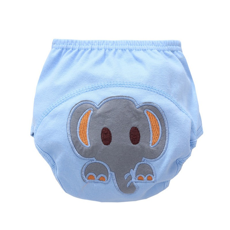 Flyish 4 Pcs Baby Potty Training Pants Training Pants for 1-3 Years/' Baby Adorable Animal Pattern Training Pants