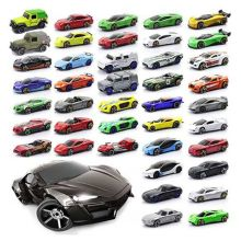 Diecast 1:64 Car Models Metal Diecast Nascar Model Toys Cars Christmas Present For Kids Boys Toy Collection Vehicle For Children(China)