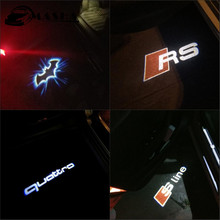 Car Door Welcome Light Logo Projector Audi A3 A4 B6 B8 B5 A6 C5 C6 TT Q5 Q7 Q3 A5 A8 A7 A1 R8 8P 8L 8V RS S line Quattro - ANASHEN Store store