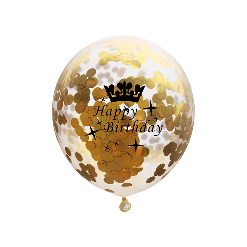 5pcs 12inch Balloon Party Wedding Decoration Multicolor Confetti Balloon Thickening Pear Ballons Decoration Birthday 10