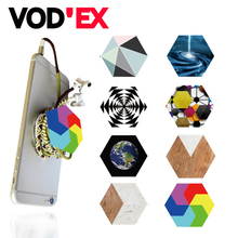 Hexagon Mobile Phone Holder Stander Air Gasbag POP Smartphone Wire Wrapping Universal Phone Holder
