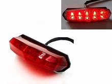 Red LED Brake Tail Light for Honda Dirt Bike Quads Dual Sport Super Moto ATV CR(China)