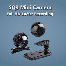 SQ9 Spied Camera New Version SQ8 HD 1080P 720P Mini Camera Voice Video Recorder IR Night Vision Mini DV DVR Camera Camcorder