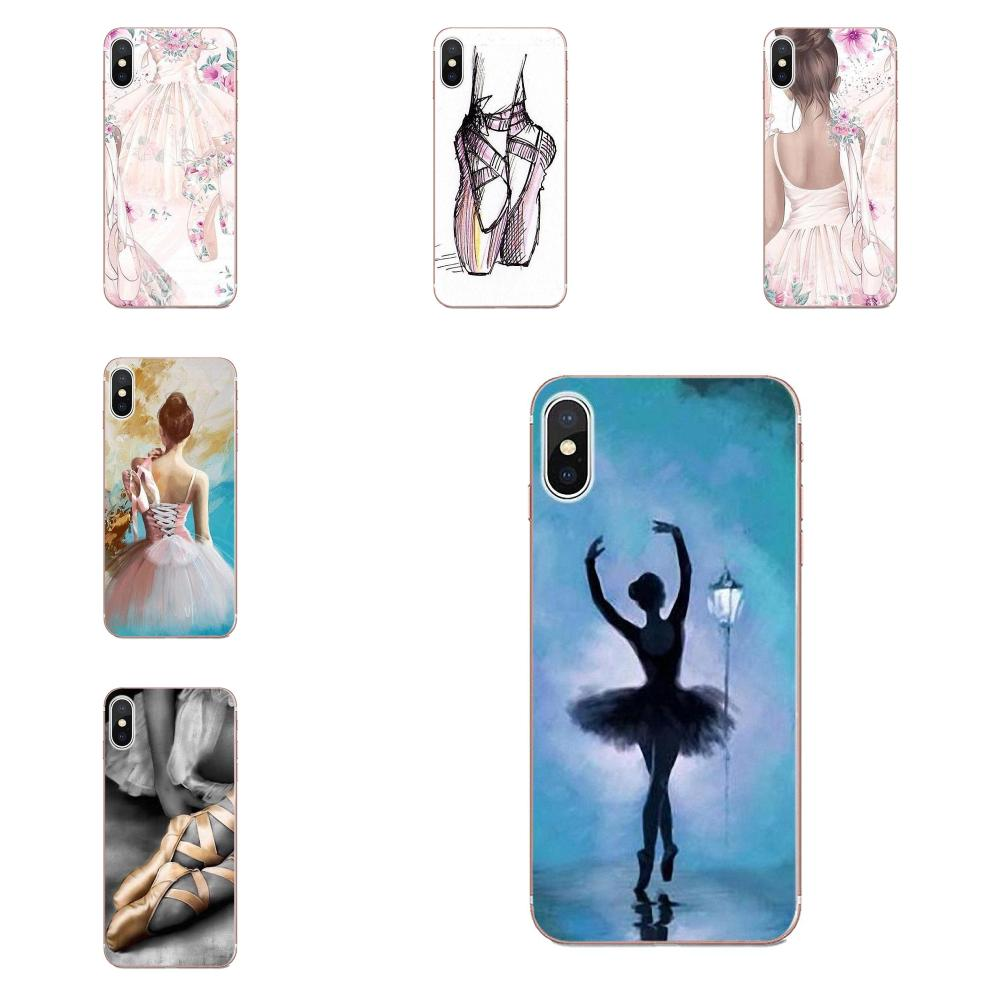 Чехол из ТПУ для Samsung Galaxy Note 5 8 9 S3 S4 S5 S6 S7 S8 S9 S10 mini Edge Plus Lite Love Ballet Dance Forever