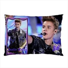 "One and Only Justin Bieber Pillowcase Justin Bieber Collectible Photos Pillow Case Custom Pillow Covers Cases 20""x30"" Two Sides"