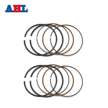 Motorcycle Engine Parts STD Bore Size 62mm Piston Rings For Kawasaki ZZR250 EX250 GPZ250 GPX250 KLE250(China)