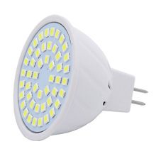 Spot Light MR16 AC 220V LED 6W Bulb 48LEDs 2835 SMD Replace 20W 30W Halogen Lamp Spotlight For Living Room Chandeliers(China)