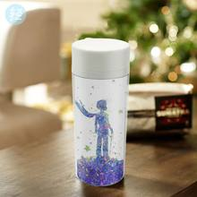 Plastic Insulated Original Watercolor Little Prince Pop Modern Movie Boy Kids Water Bottle 300ml Gifts BPA Free Personalized