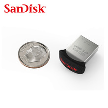 Sandisk Glide mini USB 3.0 Flash Drive CZ43 up to 130m/s 16GB 32GB 64GB 128GB Pen Drive For Smartphones&Tablets&PC&Mac Computers(China)