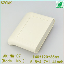 1 piece 120x140x35mm  Electrical plastic junction box case network shell for wifi router and hifi modems