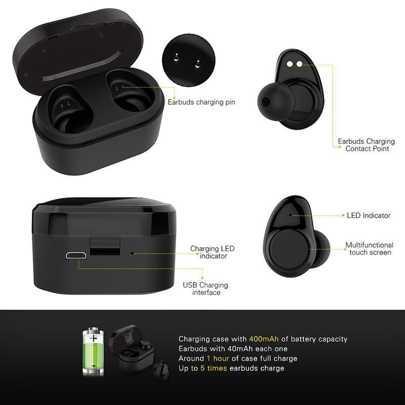 bluetooth earphone headphone