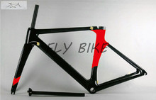 2016 new color T800 full carbon fiber carbon road bike frame set ,full carbon fiber ,cube frame and fixie