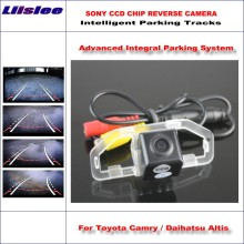 Intelligentized Reversing Camera For Toyota Camry / Daihatsu Altis 2011-2013 Rear View / 580 TV Lines Dynamic Guidance Tracks(China)