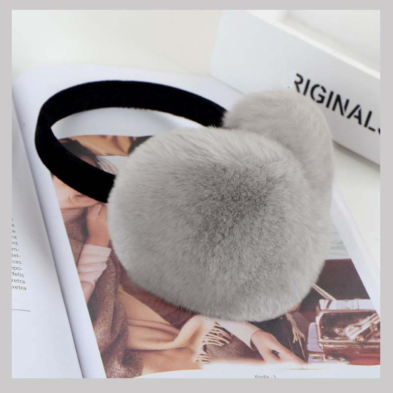 real fur earmuf 8