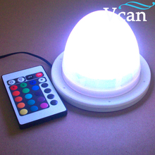 Battery LED Light System colours change blue white flashing remote control For Table Chair VC-L117(China)