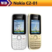 Original Nokia C2-01 Unlocked Mobile Phone C2 GSM/WCDMA 3.15MP Camera 3G phone Free Shipping