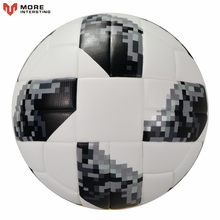 High Quality 2018 Official Size 5 Football Ball PU Granule Slip-resistant Football Match Training Soccer Ball(China)