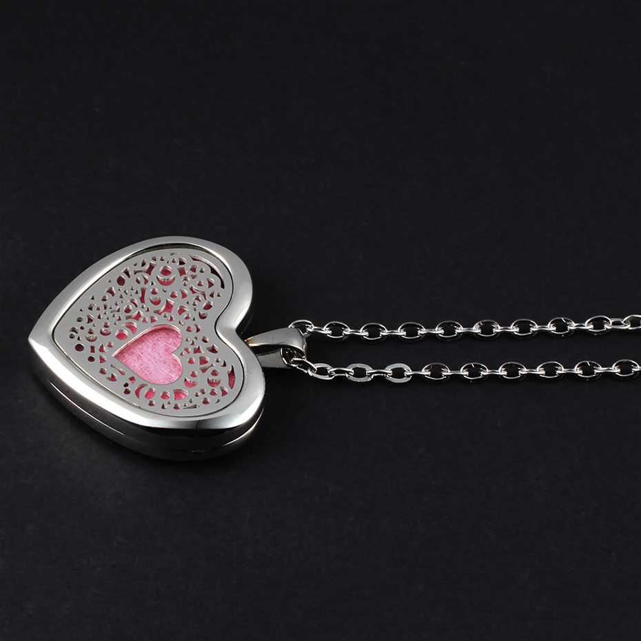 heart shaped diffuser necklace for women CV2102-1-20 (6)