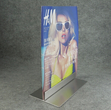 Silver Metal Poster Advertising Display Stand Poster Stand KT Board Display Rack Holder Sign Holder