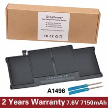 "New KingSener Laptop Battery A1496 For Apple MacBook Air 13"" A1466 2013/2014 MD760LL/A MD761CH/A 7.6V 7150mAh"