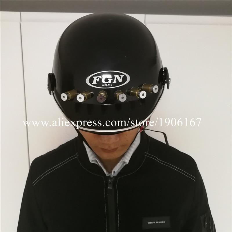 led laser costumes helmet09