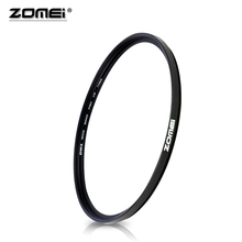 ZOMEI Import Optical Glass Ultra-violet UV Filter 40.5/49/52/55/58/62/67/72/77/82/86mm As Lens Protector For Nikon Canon Camera