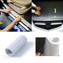 3 Meters Rhino Leather Skin Car Bumper Hood Paint Protect Sticker Protective Film Vinyl Clear Transparent