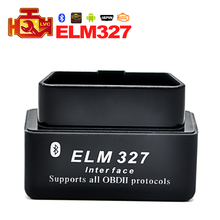 2017 super ELM327 v2.1 Mini ELM 327 Bluetooth OBDII OBD-II OBD2 Auto Diagnostic Tool works with Android Torque software